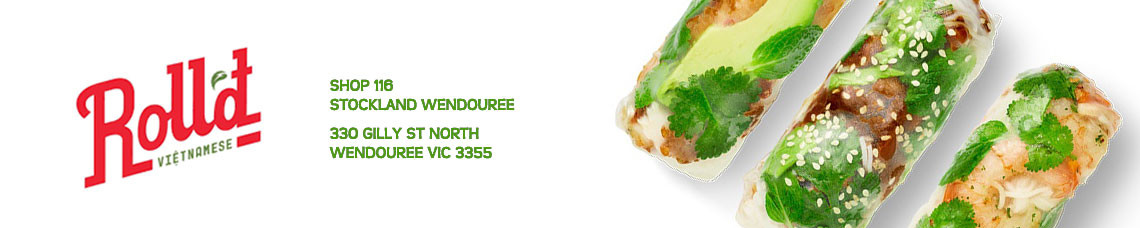 Roll'd Wendouree (Ballarat) | Order Online | Pick Up & Delivery | TuckerFox